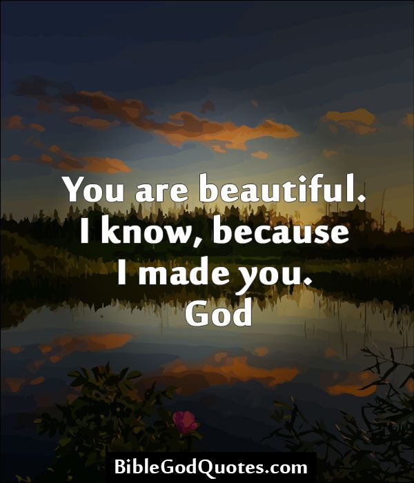 You are special and you are beautiful