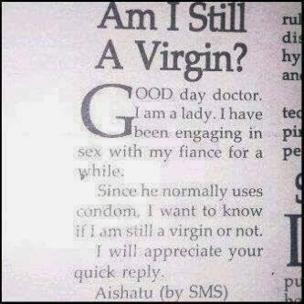 Am I Still Virgin